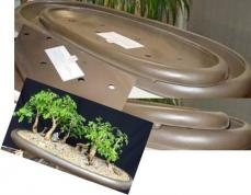 Glass Fibre Oval Forest Planter Small (Out of stock)